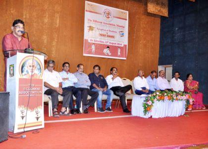 Shri N D Kotian, President addressing the gathering